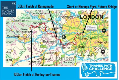 thames path challenge route map the thames path challenge 50k 2012 run moderately
