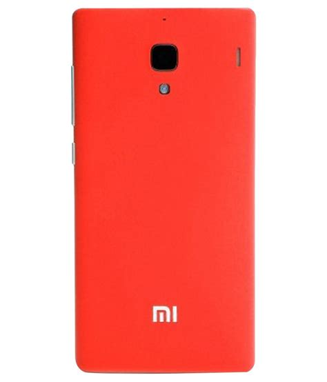 Backdoor Mi 1s Xiaomi icase back replacement cover for mi redmi 1s coral