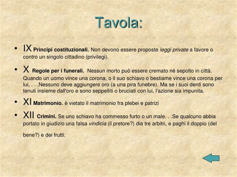 le leggi delle 12 tavole ppt le leggi delle xii tavole powerpoint presentation
