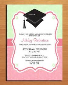 graduation invitation template design invitation ideas