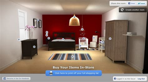 room design app brandchannel ikea app uses facebook profiles to design
