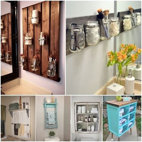 15 Clever Upcycled Bathroom Storage Projects Upcycled Bathroom Storage