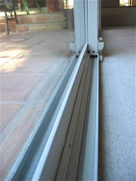 patio door tracks before and after photos of vinyl patio doors