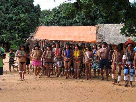 Xingu Tribe The Travel In Amazon Loading