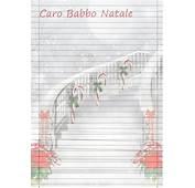Carta Da Lettera Per Scrivere A Babbo Natale  MAMMA E