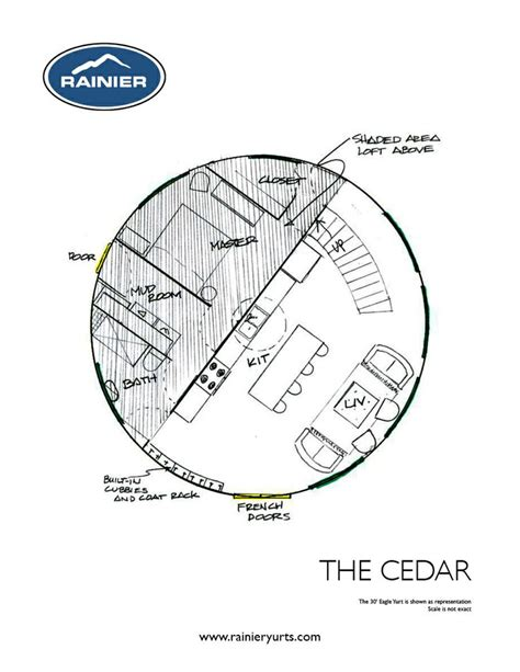 yurt home floor plans yurt floor plans rainier yurts house beautiful