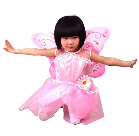 4 Piece Fairy Princess Butterfly Party Costume Set Princess Butterfly Costume