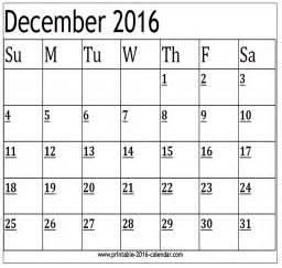 December 2016 Calendar December 2016 Calendars