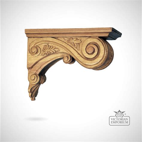 Ornate Wooden Corbels Decorative Leaf Ceiling Corbel Corbels
