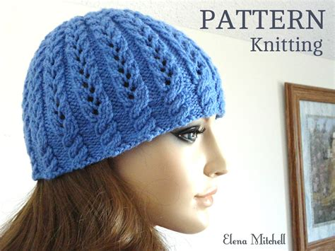 knitting pattern womens hat knitting pattern girls beanie women hat children hat knit