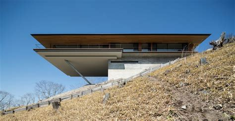 cantilever home cantilever mountain house in nagano japan