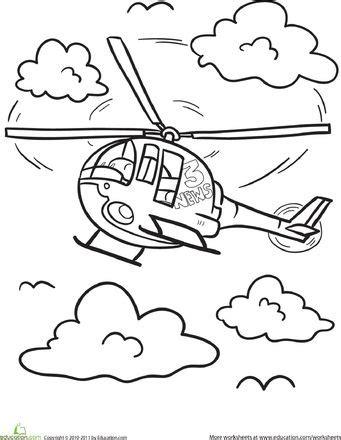 helicopter coloring page malvorlagen hubschrauber und malen