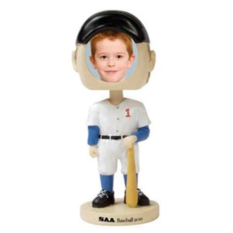 bobblehead picture frame baseball bobblehead picture frames custom imprinted with