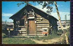 sam mcgee s cabin whitehorse alaska vintage postcard the