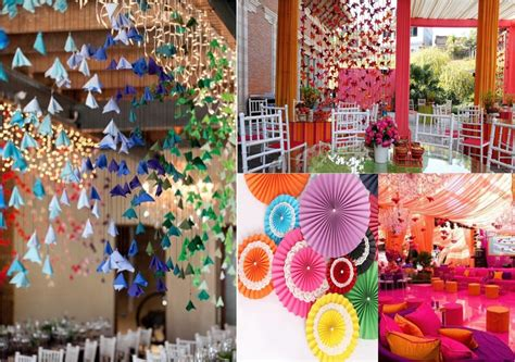 Origami Wedding Decor - wedding decor theme theme wedding planner new delhi
