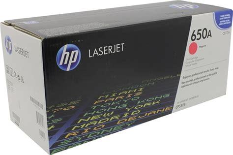 Toner Hp Laserjet 650 Colour Original toner hp 650a magenta
