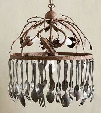 fork and spoon chandelier spoon and fork chandelier i don t what it is about