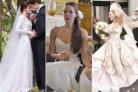 film sedih selain wedding dress 6 movie wedding dresses that brides can actually buy