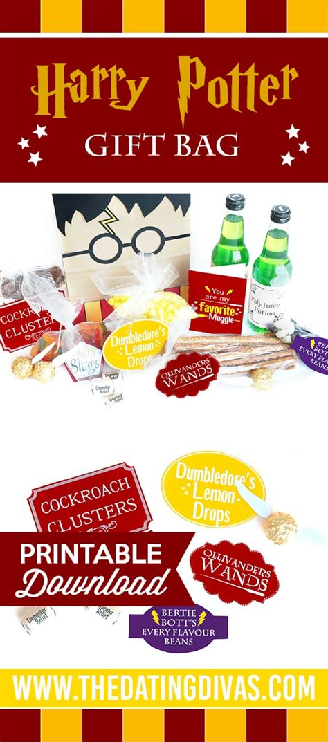 gifts to give a harry potter fan harry potter gift bag the dating divas