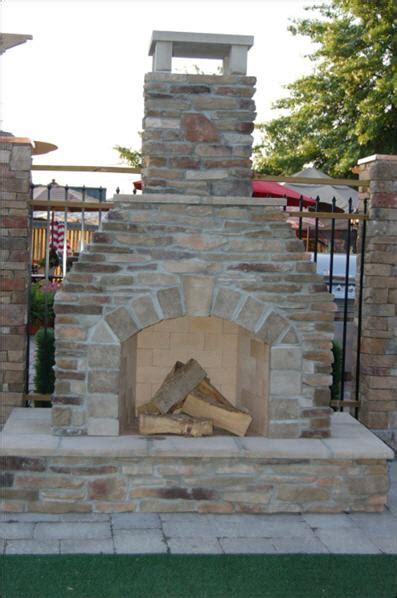 Firerock Outdoor Fireplace - fire rock outdoor fireplaces
