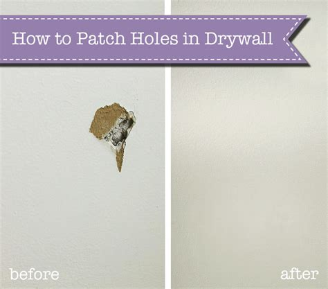 how to patch a in the ceiling how to patch holes in drywall pretty handy