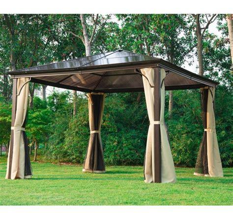 garten pavillon alu outsunny luxus pavillon gartenpavillon alu partyzelt