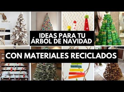 ideas para tu 225 rbol de navidad con materiales reciclados