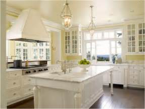 Yellow Kitchen With White Cabinets Yellow Kitchen Ideas Room Design Ideas