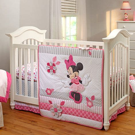 minnie mouse crib bedding nursery set 129 95 minnie mouse crib bedding set for baby personalizable if it is a uriah david