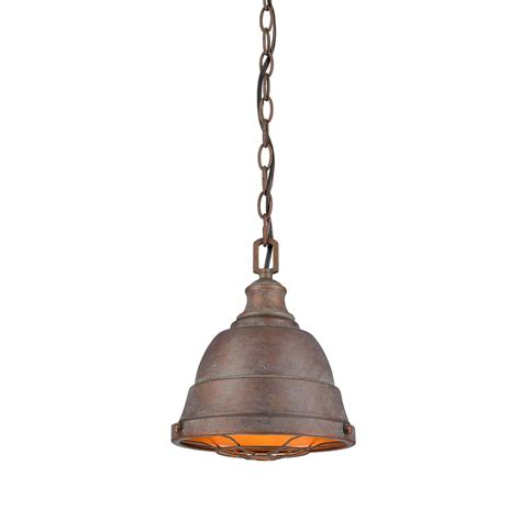 Copper Mini Pendant Lights Bartlett Copper Patina One Light Cage Mini Pendant Golden Lighting Chain Mini Pendant