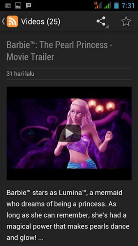 film series barbie barbie film series video android