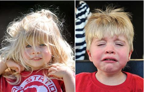 two year haircuts boy s traumatizing first haircut at the age of two photo