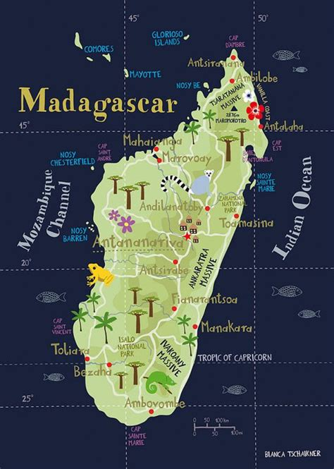 world map of madagascar illustrated map of madagascar this is one of those