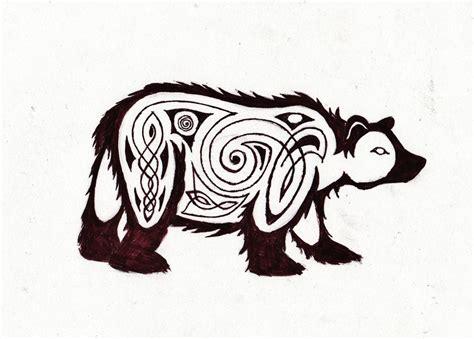 celtic bear tattoo ideas on celtic leopard tattoos and