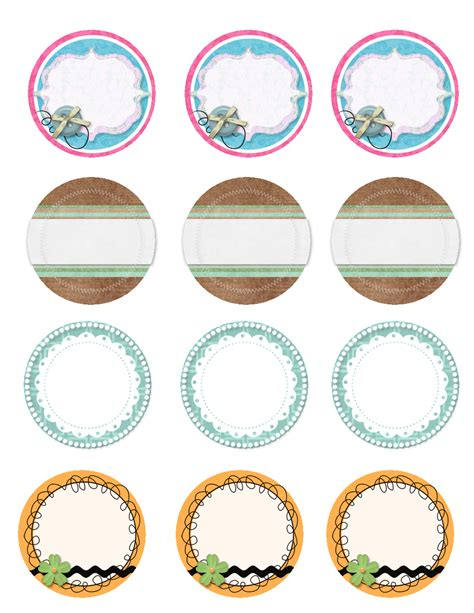 7 best images of printable jar label templates free