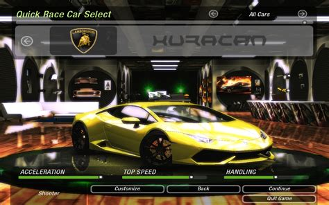 Need For Speed Underground 2 Cars by Lamborghini   NFSCars