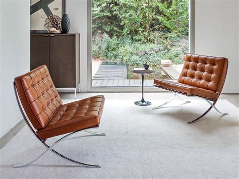 poltrona barcelona knoll buy the knoll barcelona chair relax version at nest co uk