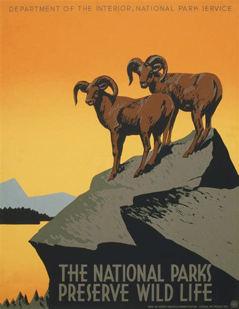 national right to life the nation s oldest largest pro life file the national parks preserve wild life wpa poster ca