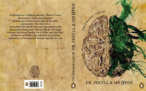 jekyll project layout book cover design dr jekyll mr hyde on behance