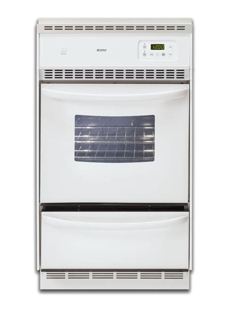 Oven Gas Manual kenmore 30522 24 quot manual clean gas wall oven sears outlet