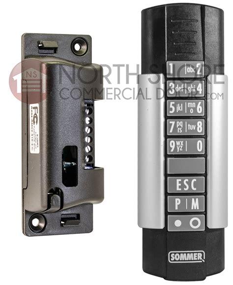 Wireless Garage Door Openers by Sommer Telecody Garage Door Opener Wireless Keypad 310mhz