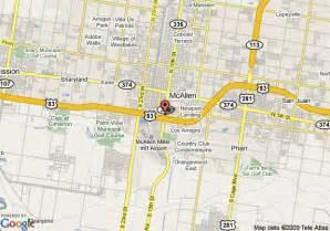 map of america s best inn mcallen mcallen