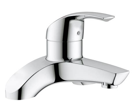 bathroom taps grohe grohe eurosmart deck mounted bath filler tap 25098000