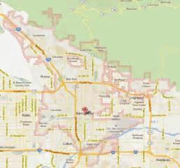 san bernardino california map