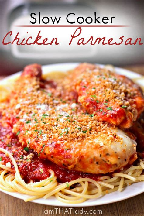 dump recipes   crockpot chicken parmesan recipe