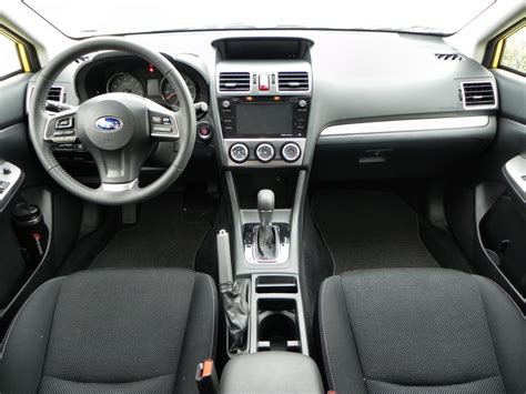 subaru crosstrek interior 2016 2015 subaru crosstrek is right sized fun carnewscafe