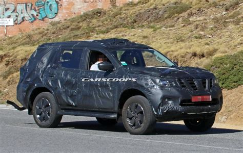 nissan suv new nissan navara based suv spied could this be the next