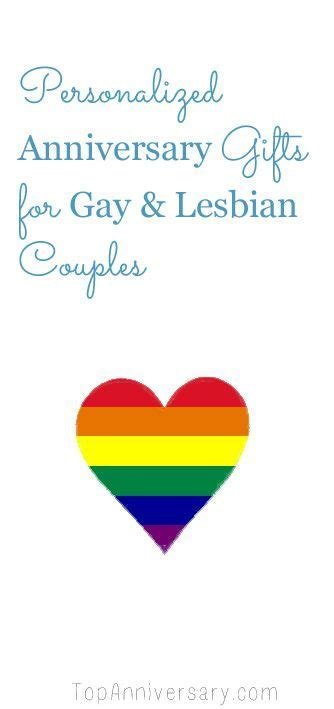 Gorgeous LGBT Anniversary Gifts For All Couples   Happy