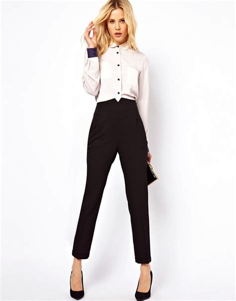 Land Nanette Lepores Wearable High Waist Trousers by Asos Asos High Waist Trousers