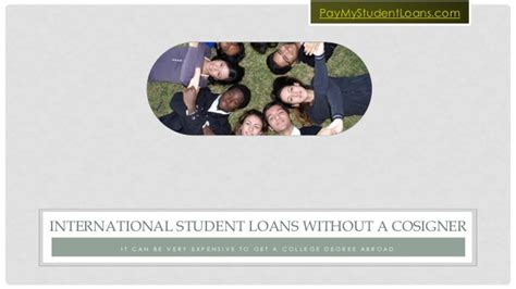 can you buy a house with a cosigner international student loans without a cosigner